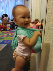 Did I mention my mama is a Babywearing Educator?